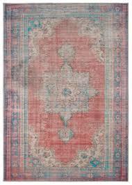 oriental weavers sofia 85819 red blue area rug