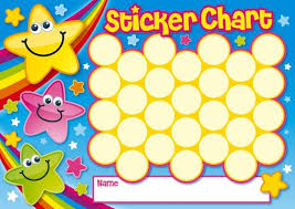 Childrens Sticker Chart Sticker Chart Bing Images Sticker Chart Reward Sticker