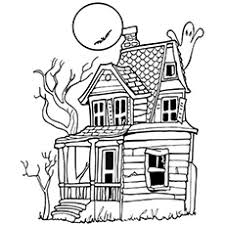 Page 1 of 1 start overpage 1 of 1. Top 25 Free Printable Haunted House Coloring Pages Online