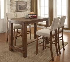 bar height dining table set. Creative Of Bar Dining Table Set 5 Pc Sania Collection Height