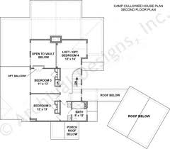 Camp Cullowee Mountain House Plans Luxury Floor For Lakefront Property Pl:  Full Size ...