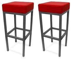 modern red leather bar stools  cabinet hardware room  elegant
