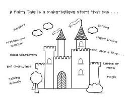 Elements Of A Fairy Tale Story Elements Of A Fairy Tale Student Chart Teaching