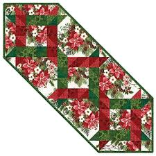 Table Topper & Quilted Table Runner Kits | Keepsake Quilting & Winter Twist Table Runner Quilt Kit Adamdwight.com