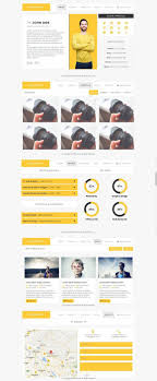 Resumify One Page Resume Template Htmlcss Themes Htmlcss
