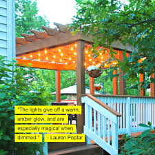 How To Hang Lights In Gazebo Ambience Pro Outdoor String Lights Hanging Gazebo Lights