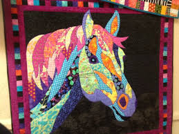 Horse Quilt Pattern Beauteous SALE Dakota BJ Designs Horse Quilt Pattern By PincushionParty