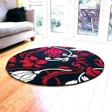 red circle rugs simplistic red round rugs red round rugs circle floor black and quality modern red circle rugs
