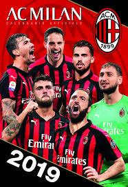 europublishing AC Milan Calendario Verticale Ufficiale 2019