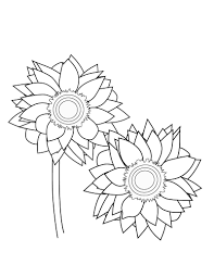 Be sure to scroll down the page to see all our free christmas coloring pages. Free Printable Sunflower Coloring Pages For Kids