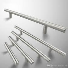 modern satinless steel t bar kitchen cabinet door handles drawer pulls knobs furniture accessories handles kichen cabinet door furniture accessories