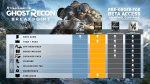 Tom Clancys Ghost Recon Breakpoints Special Edition And