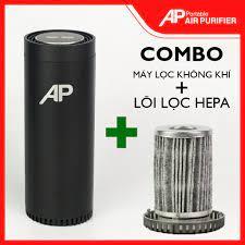 COMBO] Máy Lọc Không Khí Ô Tô/ Xe Hơi & Lõi lọc thay thế HOT Lọc không khí  và khửi mùi hiệu quả tại TP. Hồ Chí Minh