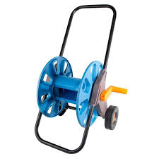 specifications of phoenixhub portable garden hose reel water pipe storage rack holder with wheels 1 2 150 feet 45m hose blue