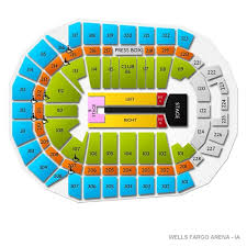 wells fargo arena seating chart with seat numbers awesome map of bnhspine