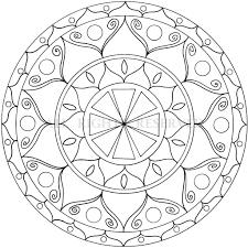 Mandala Da Colorare Per Bambini Con Mandala Facili Da Fare E Mandala