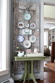 diy vine decor plate wall
