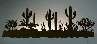 large size of southwestern wall art southwest decor desert cactus scene back lit inch gecko lizards