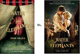 comparison water for elephants book vs movie book movie  comparison water for elephants book vs movie