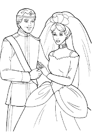 Barbie Wedding Coloring Pages Free Printable Coloring Pages For Kids