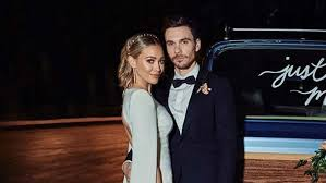 See photos of hilary duff's wedding gown Hilary Duff Has Shared The First Photo From Her Wedding Hit Network