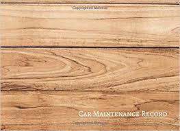 Car Maintenance Record Car Maintenance Record Vehicle Maintenance Log Journals For All