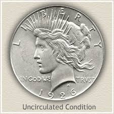 Silver Dollar Chart 1926 Peace Silver Dollar Value Discover Their Worth