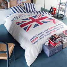 london union jack reversible duvet cover set
