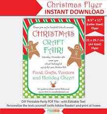 Printable Christmas Flyers Christmas Flyer Printable Christmas Flyer Template Christmas