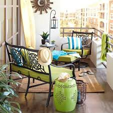 balcony furniture yourself construction end table green metal balcony furniture