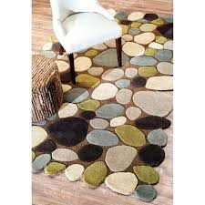 nuloom wool rug hand carved stones and pebbles wool rug x 9 nuloom handmade concentric diamond