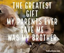 Brother Quotes Stunning Best Brother Quotes Brothers For Life Quote Truthwithme