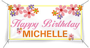 custom happy birthday banner custom vinyl banner