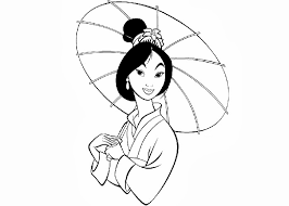 Small Picture Mulan Coloring Pages fablesfromthefriendscom