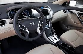 Gray Elantra Hyundai Interior 2015 Pleasurable