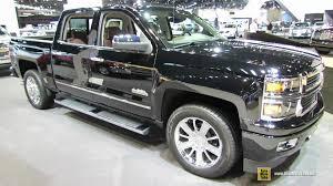 chevrolet trucks 2015 black. 2015 chevrolet silverado 1500 high country exterior interior walkaround 2014 chicago auto show youtube trucks black