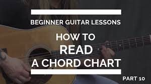 How To Read A Chord Chart For Guitar Beginner Guitar Lesson 10