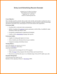 Career Objective For Cabin Crew Resume Free Resume Example And