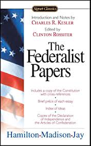 com democracy in america and two essays on america  the federalist papers