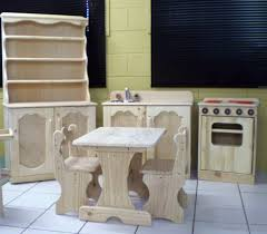 barbie wood furniture. childrens furniture for kitchen corner or cubby house barbie wood r