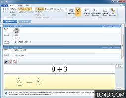 microsoft mathematics screenshot 3