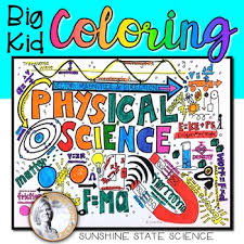 Small Picture Big Kid Physical Science Coloring Pages by Sunshine State Science