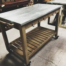 Kitchen Island Table On Wheels With Casters Modern For Inspirations