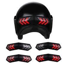 12v <b>wireless motorcycle helmet</b> led brake turn signal light indicators ...