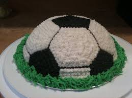 How To Decorate A Soccer Ball Cake Making A Soccer Cake Soccer ball cake Buttercream icing and 9