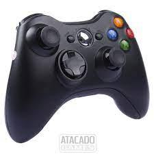 Controle sem fio para Xbox 360 paralelo - Preto (sem caixa)