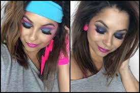 80s eye makeup images 80 s tutorial you easy