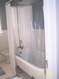 interior shower curtain clawfoot tub youresomummy com ideal 9 clawfoot shower curtain