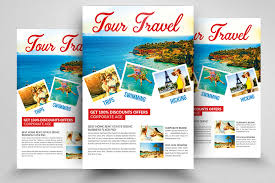 Holiday Tourtravel Psd Flyer