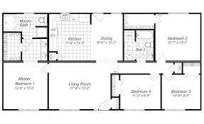 4 bedroom plans for a house modern design 4 bedroom house floor plans four bedroom home